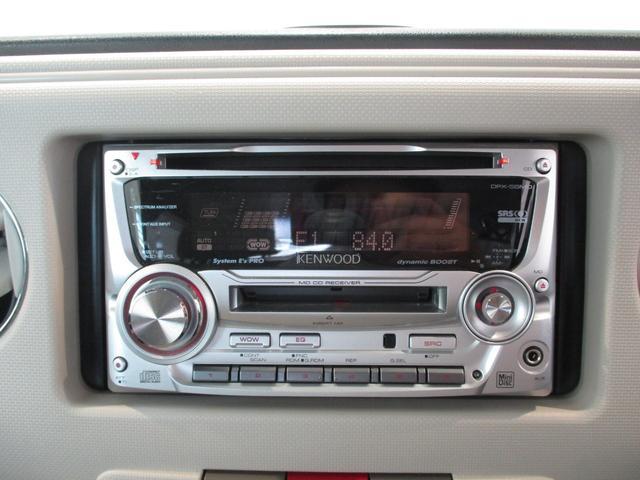 ココアプラスX 車検整備付 タイミングチェーン ベンチシート キーフリーシステム オートエアコン フロントフォグライト ルーフレール 走行距離55700km台 CD/MDチューナー(16枚目)