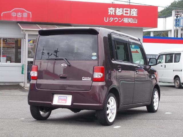 「ダイハツ」「ムーヴコンテ」「コンパクトカー」「京都府」の中古車2