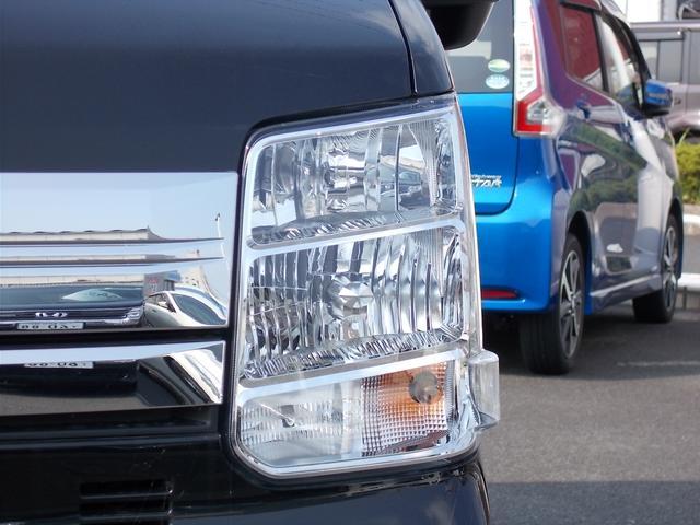 キセノンライトは、本当に明るくて安全です。暗い夜道からお客様を守ってくれます。運転しやすいですし、自慢にもなるかも?