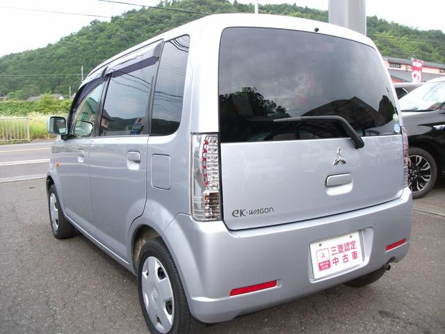 三菱 eKワゴン M 4WD  AT  三菱認定中古車1年保証