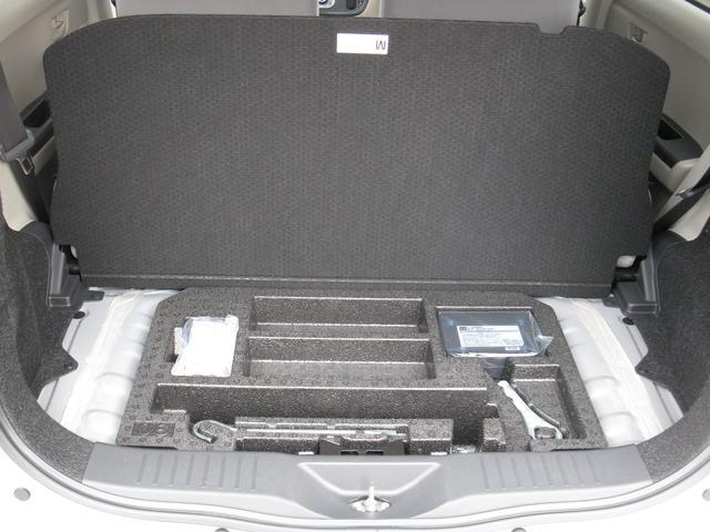 パンク修理キット搭載で万が一のタイヤパンクの際も安心です。
