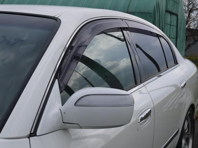 日産 シーマ 300Gグランドツーリング ブラックレザー 助手席オットマン