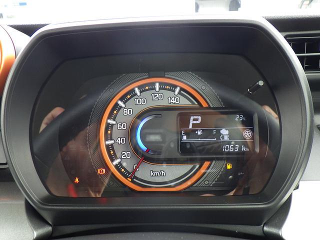 アクティブ感を演出する一眼スピードメーター