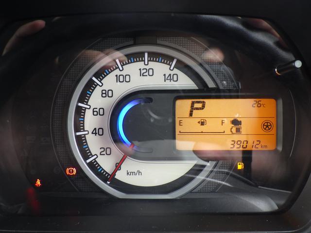 多機能な表示が可能なインフォメーションメーター装備の一眼スピードメーターを装備