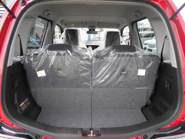 リヤシートスライド量に合わせて、ラゲッジスペースの奥行を調整できます。
