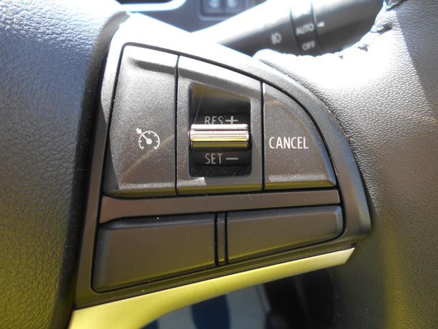 スイッチ操作で設定走行が可能な、『クルーズコントロールシステム』を搭載。長距離ドライブをサポートします。