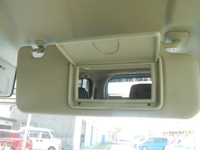 運転席・助手席に化粧直しなどに役立つ、バニティミラーを装備しております。