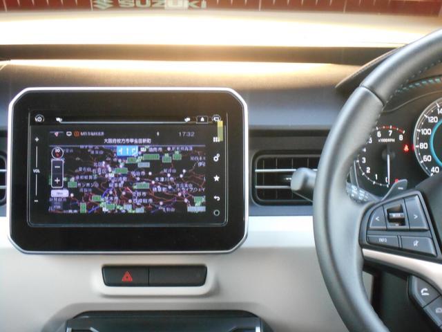 運転をしながら、ナビゲーションの音量調節等が手元でできます。