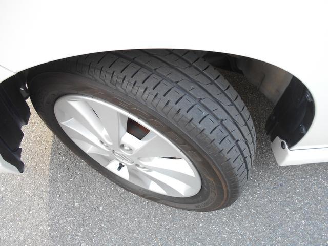 タイヤの溝もたっぷりで安心