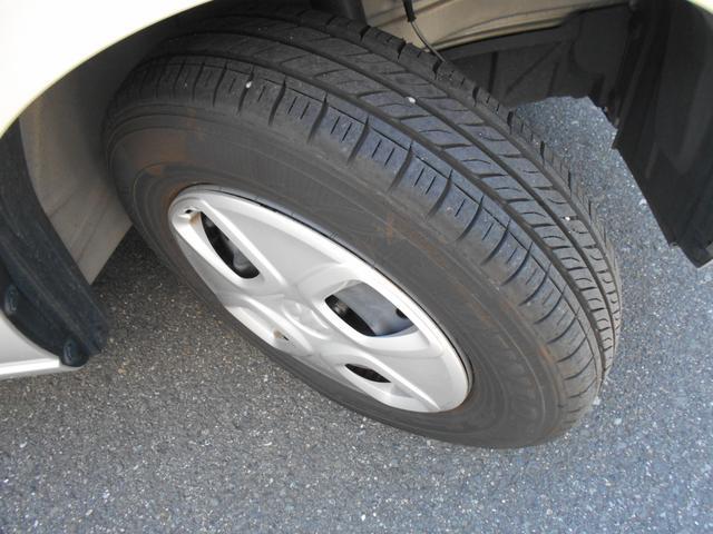 タイヤの溝もたっぷりで安心。
