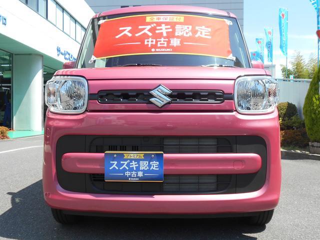 スペーシアHYBRID G マイルドハイブリッドで低燃費!見た目も可愛いピンク色!
