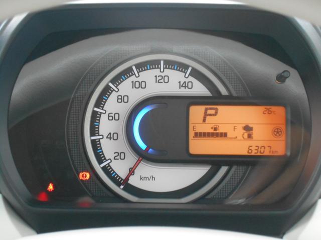走行距離も少なく見やすいメーター!平均燃費や瞬間燃費・航続可能距離も教えてくれます。