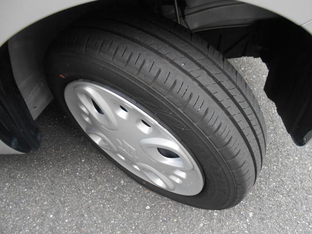 タイヤの溝もまだまだあり!スペーシアで「楽しい」「便利」をたくさん見つけてくださいね!