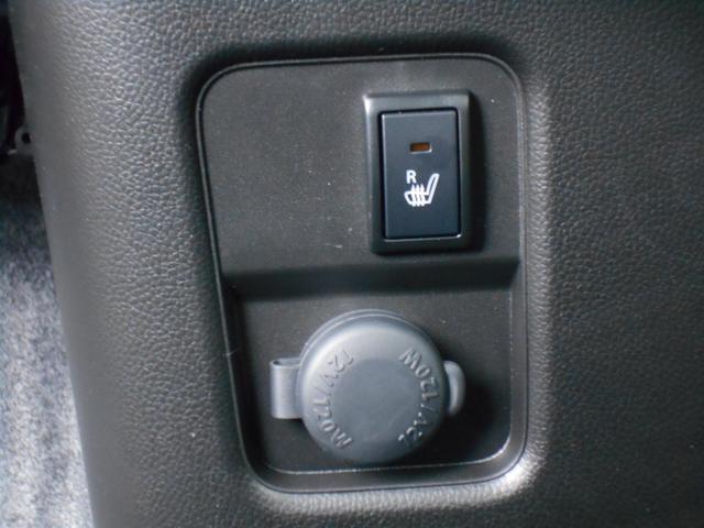 運転席にシートヒーターがついているので、寒い日のドライブもあったかポカポカ。