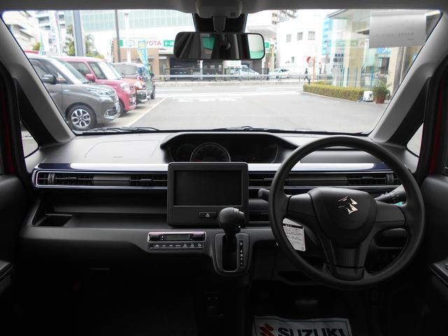 広々とした視野を確保できるので運転しやすいですね!