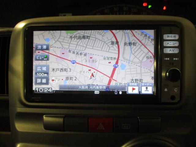 メモリーナビ装備しています☆知らないところへドライブに行った時の強い味方になってくれますよ(*^_^*)