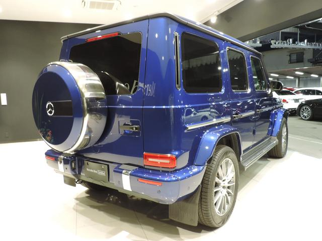 G550 AMGライン 20インチAMGマルチスポークアルミホイール ナッパレザーシート AMGスポーツステアリング 電子制御ディファレンシャルロック 360°カメラシステム レーダーセーフティーパッケージ(7枚目)