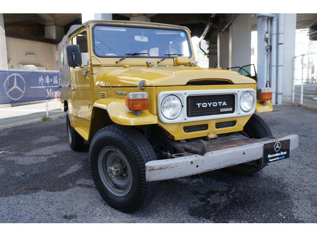「トヨタ」「ランドクルーザー40」「SUV・クロカン」「兵庫県」の中古車3