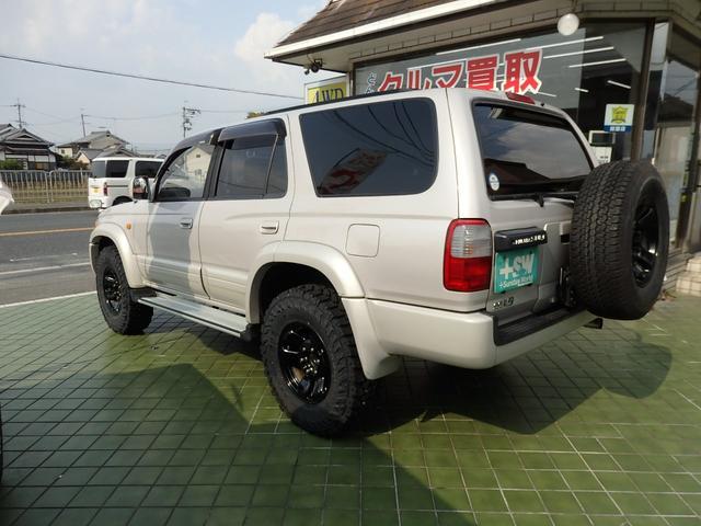 トヨタ ハイラックスサーフ SSR-X  新品タイヤ 新品Fグリル・ヘッドライト