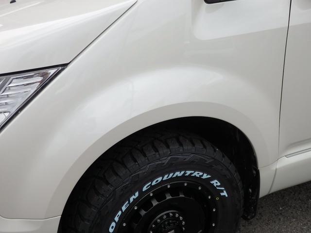 D パワーパッケージ 新品タイヤホイール 両側パワースライドドア 前席シートヒーター 社外ナビTVバックカメラ フリップダウンモニター クリーンディーゼル車(29枚目)