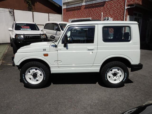 ワイルドウインド 社外フロントバンパー 新品タイヤ ホワイトに全塗装(4枚目)