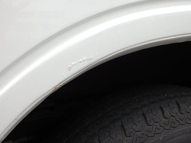 ワイルドウインド 社外フロントバンパー 新品タイヤ ホワイトに全塗装(15枚目)