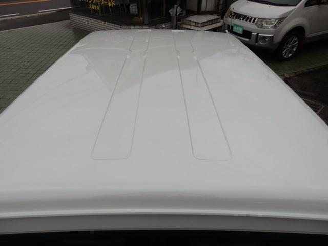 ワイルドウインド 社外フロントバンパー 新品タイヤ ホワイトに全塗装(18枚目)