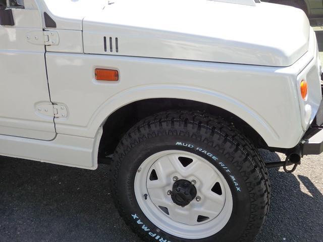 ワイルドウインド 社外フロントバンパー 新品タイヤ ホワイトに全塗装(23枚目)