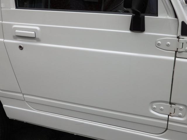 ワイルドウインド 社外フロントバンパー 新品タイヤ ホワイトに全塗装(24枚目)