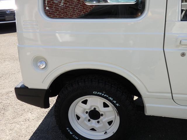 ワイルドウインド 社外フロントバンパー 新品タイヤ ホワイトに全塗装(25枚目)