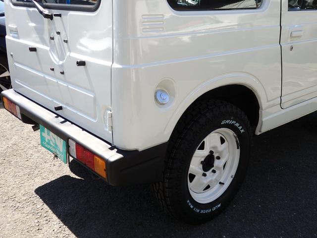 ワイルドウインド 社外フロントバンパー 新品タイヤ ホワイトに全塗装(26枚目)