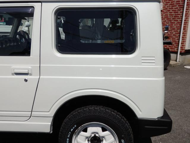 ワイルドウインド 社外フロントバンパー 新品タイヤ ホワイトに全塗装(30枚目)