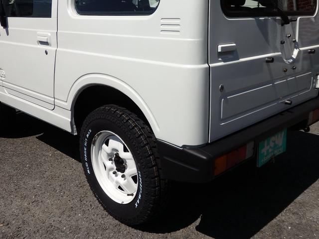 ワイルドウインド 社外フロントバンパー 新品タイヤ ホワイトに全塗装(31枚目)