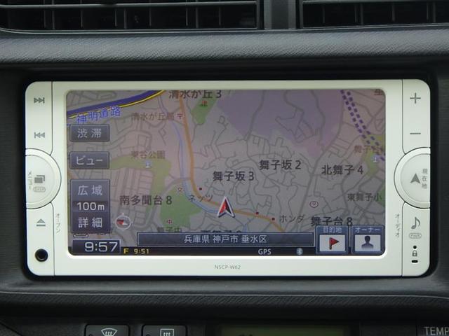 トヨタ アクア S SDナビ ETC マット バイザー