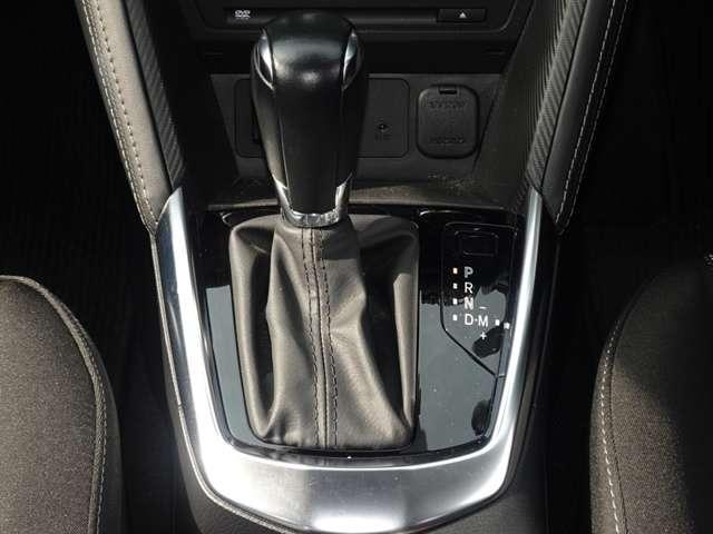アクティブマチック搭載!オートマチックでもマニュアルのような、アクティブな運転が可能です。エンジンブレーキの使用の多い、山間部にも便利です。