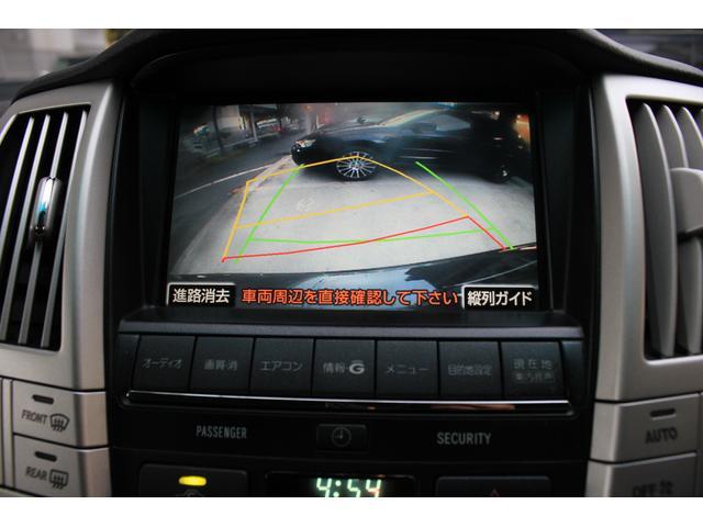トヨタ ハリアー 240G Lパッケージ 純正HDDナビ Bカメラ ETC