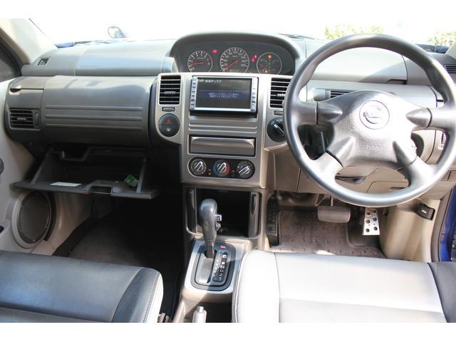 日産 エクストレイル S 4WD インテキー カプロンシート