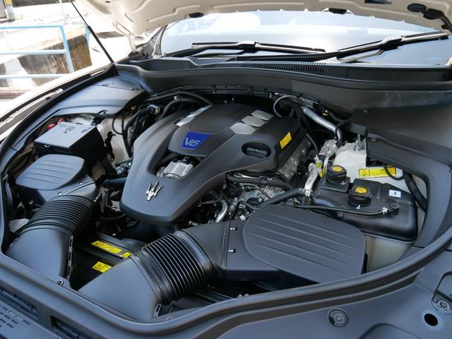 Sグランルッソ 正規ディーラー車 法人ワンオーナー 禁煙 ツインターボ430馬力エンジン エルメネジルドゼニアダークシルクインテリア パノラマサンルーフ 純正ナビ 地デジTV 360度カメラ ドライバーアシスタンスP(26枚目)
