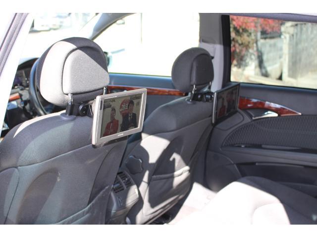 E240ステーションワゴン ワンオーナー 禁煙車 記録簿 アルパインナビ地デジ リア2モニター バックカメラ ルーフキャリア ロングバスケットカーゴ(21枚目)