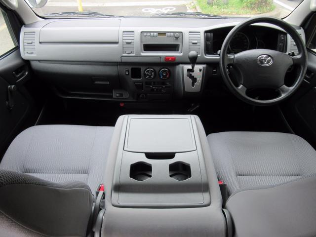 トヨタ ハイエースバン 福祉車両ウェルキャブBタイプ 車イス2台固定 電動Sステップ