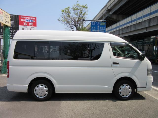 トヨタ ハイエースバン 福祉車両ウェルキャブBタイプ車イス2台固定 10人 事業用可