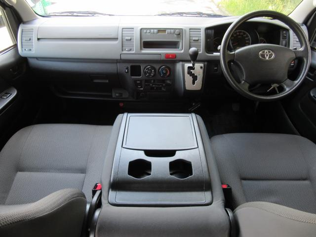 トヨタ ハイエースバン 福祉車両ウェルキャブBタイプ車イス2台固定10人乗 事業用可