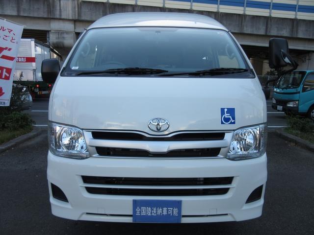 福祉車両ウェルキャブBタイプ車イス2台固定10人  事業用可(3枚目)