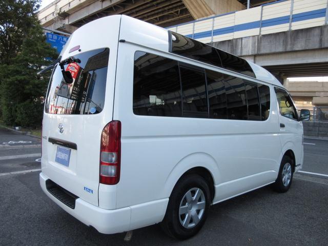 福祉車両ウェルキャブBタイプ車イス2台固定10人  事業用可(7枚目)