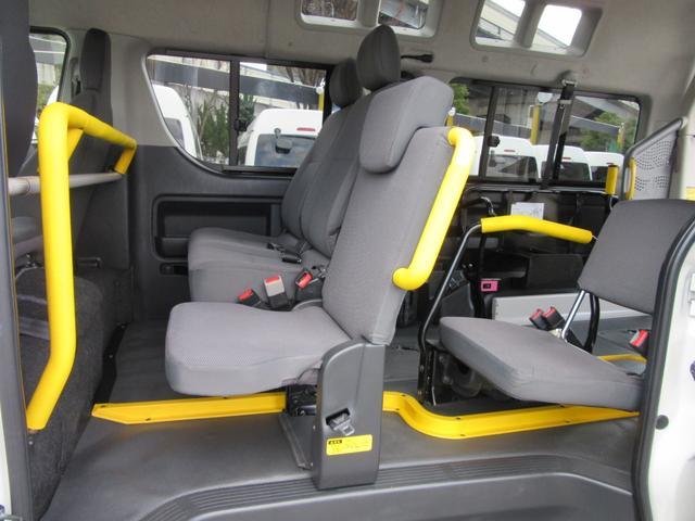 福祉車両ウェルキャブBタイプ車イス2台固定10人乗 事業用可(19枚目)