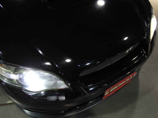 スバル レガシィB4 2.0GT 社外18AW 社外車高調 STIリップ
