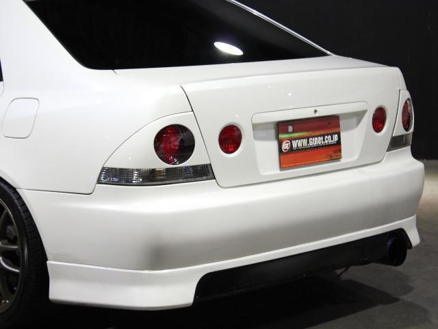 RS200Zエディション 車高調 TRDマフラー 17AW(8枚目)