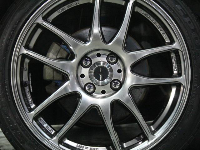 トヨタ ヴィッツ RS クスコ車高調 WORK17アルミ 柿本マフラー
