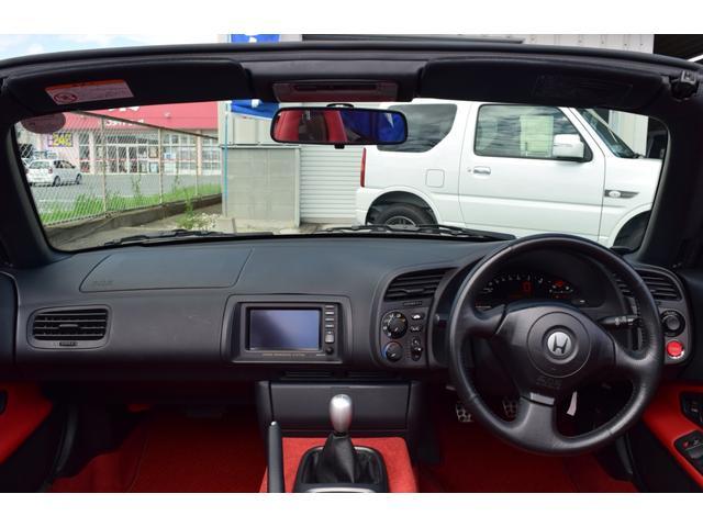 ホンダ S2000 ベース1オーナー赤革ノーマル車ナビ6速MTキセノン電動トップ