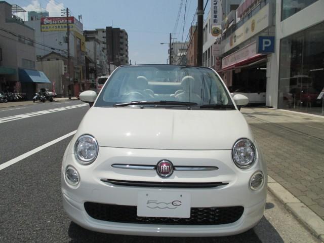「フィアット」「フィアット 500C」「コンパクトカー」「大阪府」の中古車2